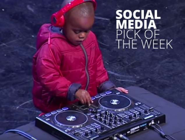 Three Year Old DJ from Alexandria Township Wows Crowd at SA's Got Talent