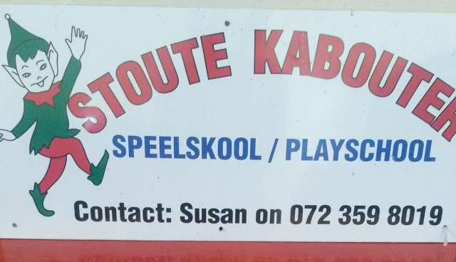Stoute Kabouter Speelskool/Play school